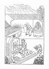Kiln Illustrations Clip Vector Illustration sketch template