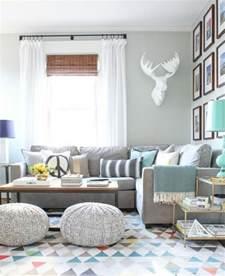 deco salon avec canape gris déco salon gris 88 idées pleines de charme