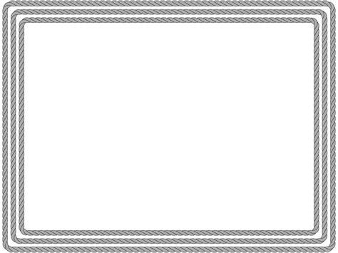 powerpoint certificate template rope border elearningart