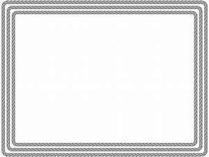 Powerpoint Certificate Template Rope Border  U2013 Elearningart