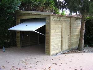Dimension Garage 1 Voiture : dimension garage garage 1 pente ~ Dailycaller-alerts.com Idées de Décoration