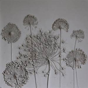Fossils from everyday life plaster cast plant tiles by for Plaster cast plant fossils rachel dein
