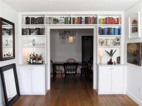 Custom Bookshelves With Ladders  Nyc — Urban Homecraft