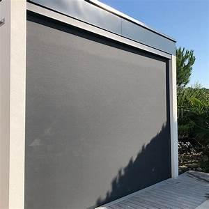 Manual Zip Track Outdoor Blinds Shade Heat Gain Window