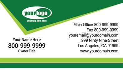 landscaping business cards la    matte