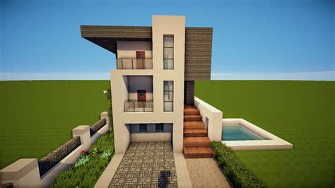 Modernes Weißes Minecraft Haus Bauen Tutorial [german