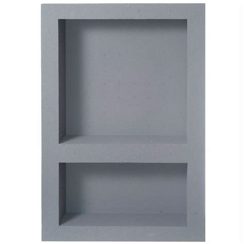Preformed Shower Niche - fin pan preformed 15 75 in w x 23 75 in h x 4 in d