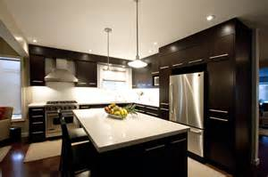 brown kitchen modern kitchen toronto by
