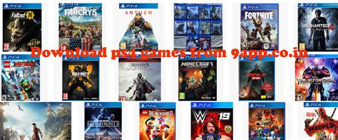 New Games Download 2019 For Ps4