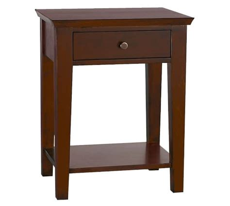 valencia rectangular bedside table pottery barn