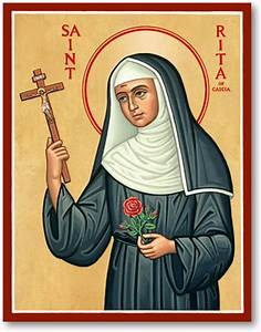 Women Saints: St Rita of Cascia Icon Monastery Icons
