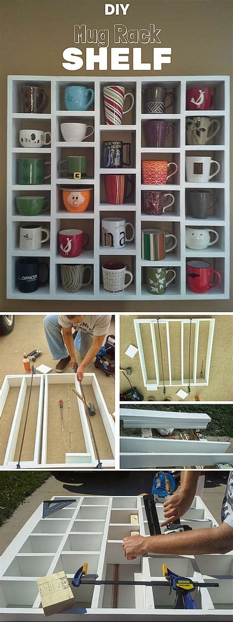 If you're a vintage/rustic furniture fan, then this i'm totally thrilled with how the shelves turned out, and i love having my favorite mugs on display this looks cool! 24 Best Coffee Mug Organization Ideas and Designs for 2017