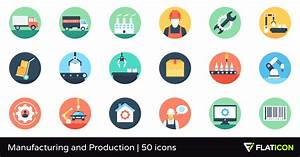 Manufacturing and Production 50 free icons (SVG, EPS, PSD ...