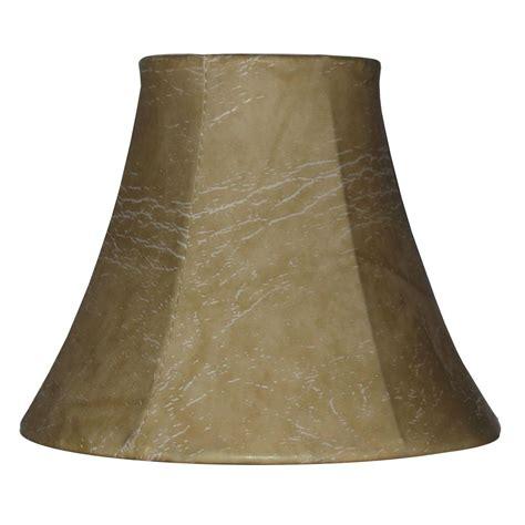 shawson lighting 12 7cm abat jour en peau de veau the