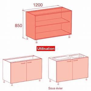 Meuble de cuisine largeur 40 cm mobilier design for Superb meuble bas cuisine 120 cm 12 meuble caisson bas largeur 60 vial menuiserie cuisine