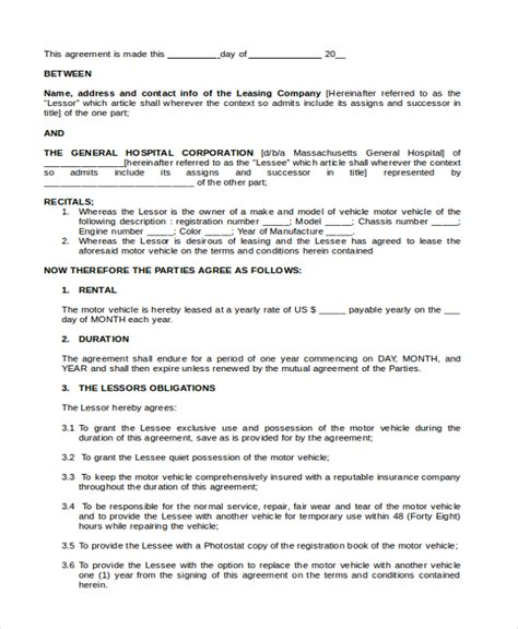 Rent To Buy Contract Template by Lease Purchase Agreement Template Sle Lease Purchase