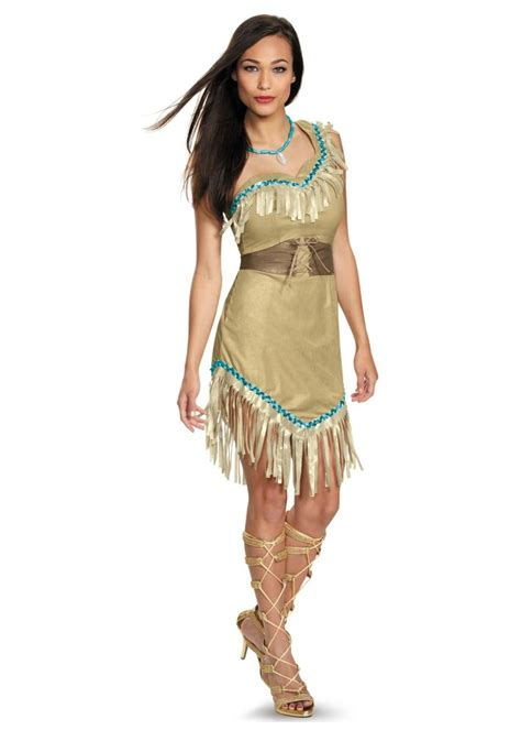 Disney Princess Pocahontas Womens Costume - Indian Costumes