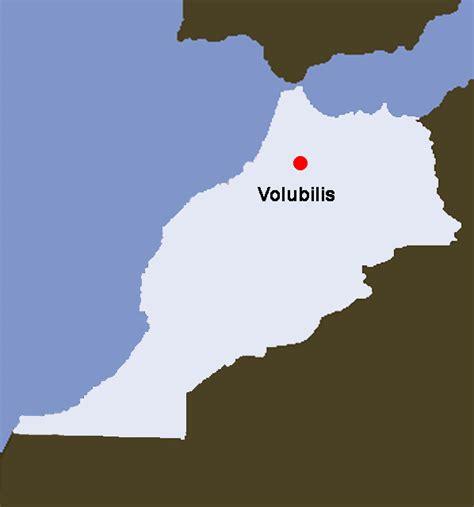 Marokko Foto - Karte: Volubilis - Bildergalerie,Fotogalerie