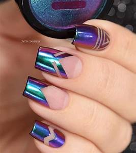 Amazing Nail Art Designs 34 Amazing Chrome Nails Trends That Suit All