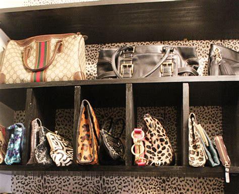 beautifully organized handbags la dolce vita