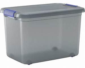 Aufbewahrungsboxen Kunststoff Mit Deckel : aufbewahrungsbox chris xxl mit deckel bei hornbach kaufen ~ Frokenaadalensverden.com Haus und Dekorationen