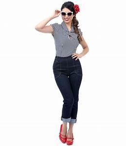 Rockabilly Women Jeans | www.imgkid.com - The Image Kid ...