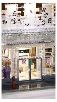 Chanel Crystal House glistens in LEGO bricks   The ...