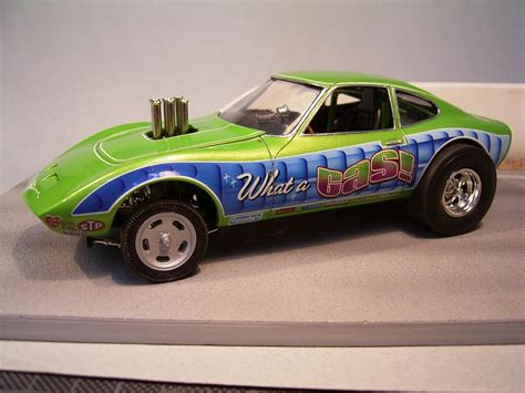 Opel Gt Drag Car by Opel Gt Gasser Drag Racing Models Model Cars Magazine