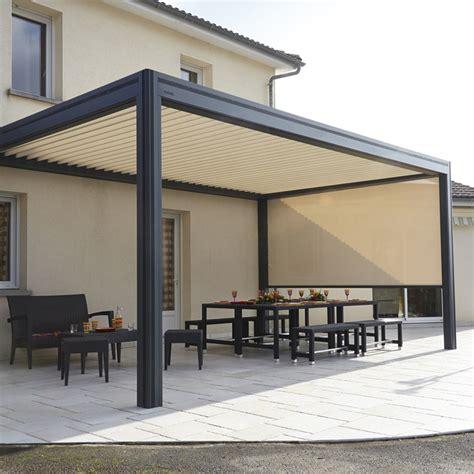 meuble de cuisine le bon coin store exterieur pour terrasse 3 pergolas bioclimatiques pergolas lames orientables evtod