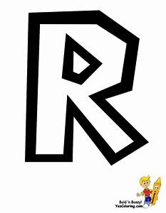 Free coloring pages of letter r graffiti
