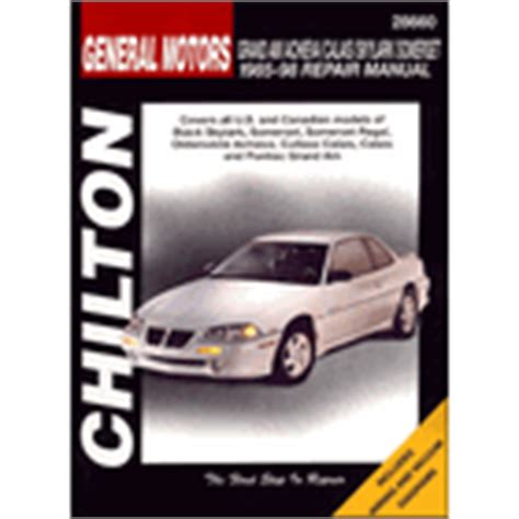 chilton car manuals free download 1997 oldsmobile achieva electronic throttle control oldsmobile repair manuals haynes chilton motor bookstore