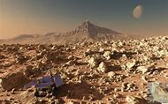 Mars Rover Landscape