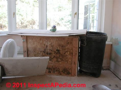 mold in kitchen cabinets   Salvage building contents: how to sort & clean moldy or