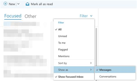 Office 365 Outlook Ungroup Emails by Oit Knowledge Base