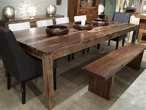 Table De Cuisine En Bois : table de cuisine bois table ronde blanche extensible maisonjoffrois ~ Teatrodelosmanantiales.com Idées de Décoration
