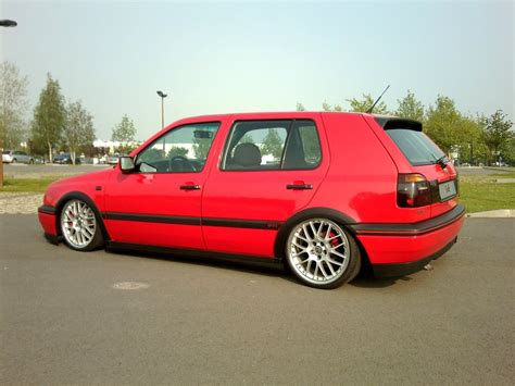 dropped volkswagen golf mk cars  love