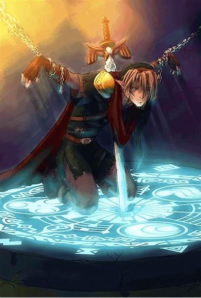 Zelda Legend Link Hero Demise Hylia Trapped