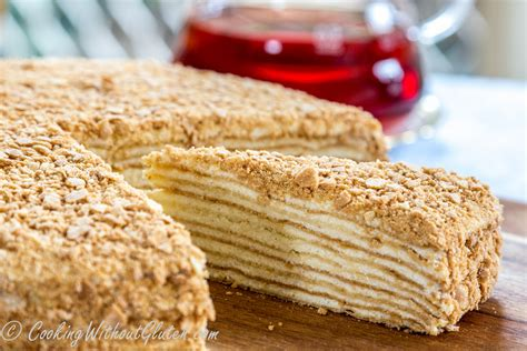 Skip to recipe print share. gluten-free napoleon | Cooking Without Gluten
