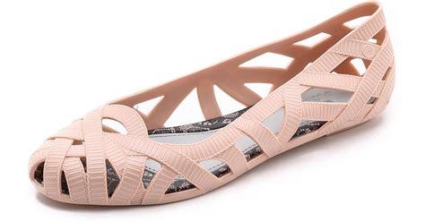 lyst melissa jason wu jean flats light pink  pink