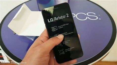 Lg Aristo 2 Hands-on Photos Leaked Before Official Launch