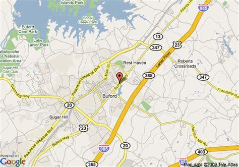 buford ga map of wingate by wyndham atlanta buford buford