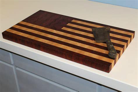 cutting board designer american flag cutting board gearmoose
