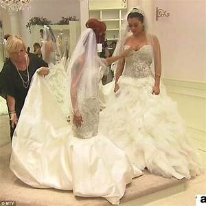 snooki finds her dream wedding dress as she and jwoww shop With snooki wedding dress