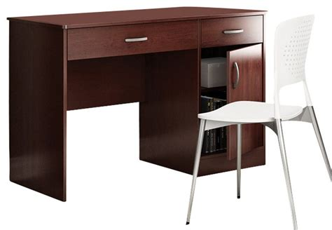 south shore furniture axess small desk royal cherry south shore axess small computer desk in royal cherry