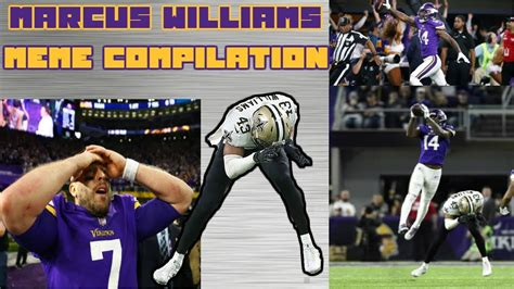 Marcus Williams Memes - marcus williams missed stefon diggs tackle meme compilation youtube