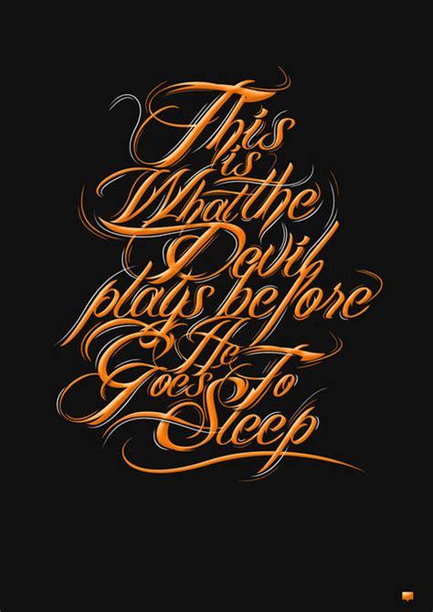 exquisite typography designs  inspire   examples