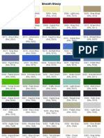 color list equivalence ip ral