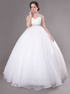 buy cheap backless beading floor length white wedding gowns With white dresses for wedding