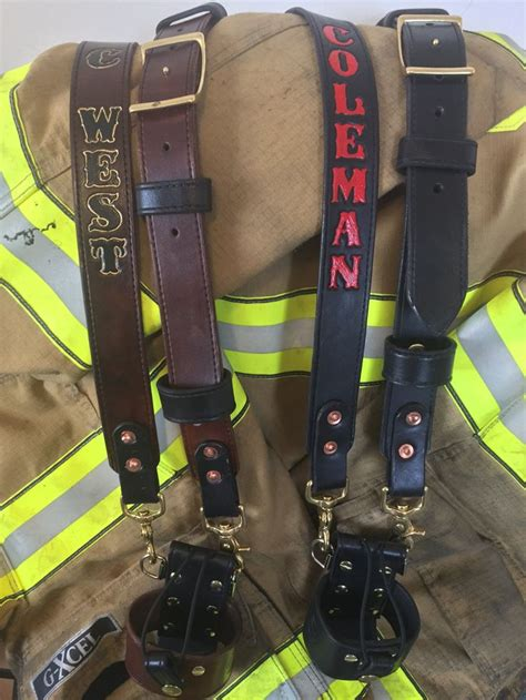 If you're for a full firefighter radio strap setup, then ...
