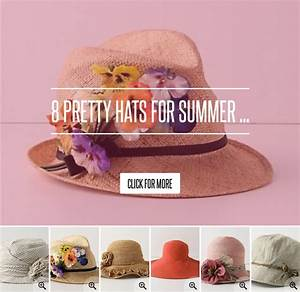 8 Pretty Hats for Summer ... Fashion